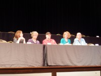 Panel at Suffolk Mystery Fest